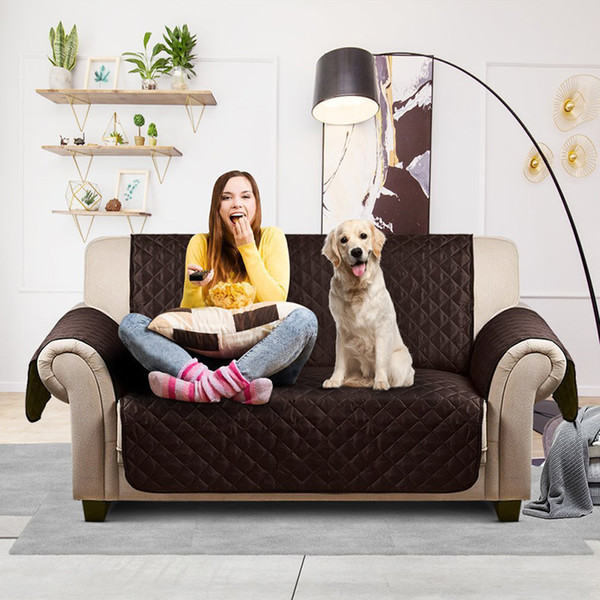 Sofa Couch Cover Waterproof Quilted Chair Pet Dog Kids Mat Furniture Protector
