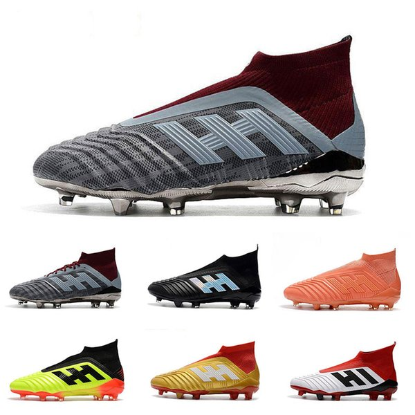 Discount Soccer Boots Predator Tango 18+ TF AG Football Shoes Wholesale Outdoor High Quality 18+ 18.1 FG Soccer Cleats Big Order For Sale