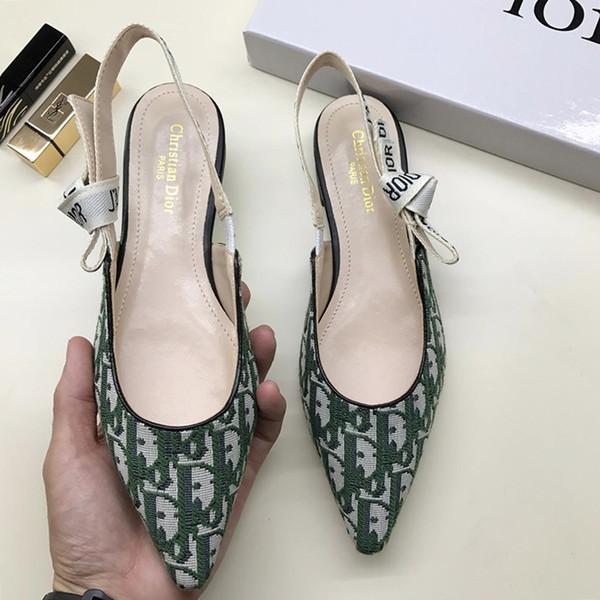 Sexy Flache Absätze Frauen Schuhe Mode Pumps Büro Damen Schuhe Slingback In Technischem Gewebe