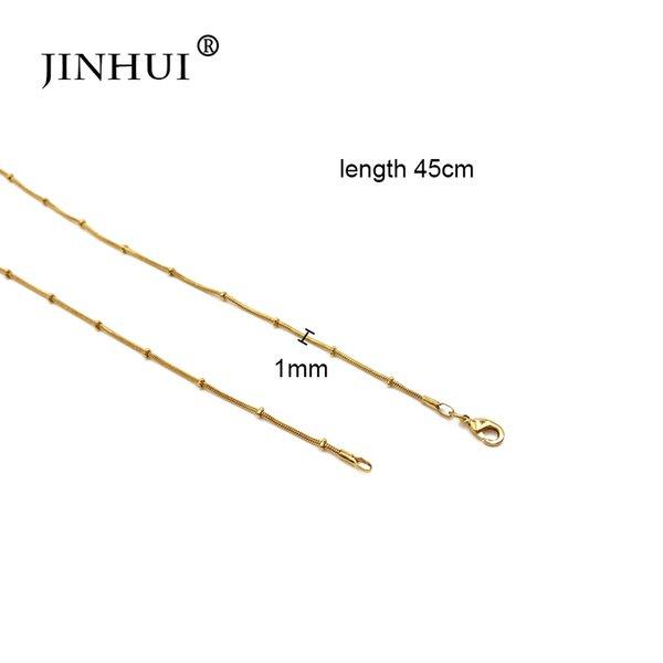 Colore oro 45 cm