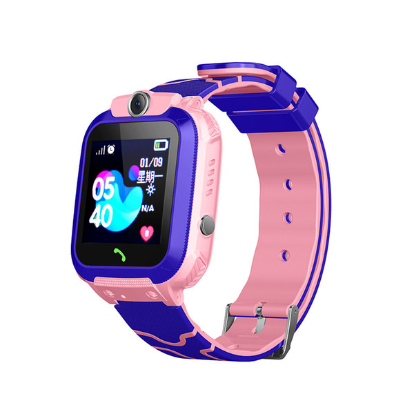 2019 new Children's smart watch IP67 depth waterproof LBS positioning SOS photo swimming call to remind messages