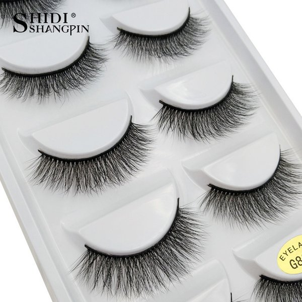 Natural Long Lashes 1 Box Makeup False Eyelashes 3d Eyelash Extension Hand Made Makeup False Eyelash
