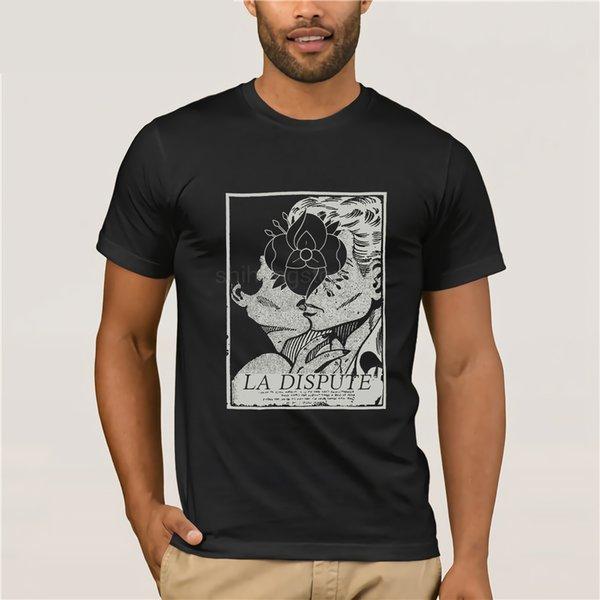 Rebajas 100% Algodón Camiseta La Dispute Men '; S Bitter Fruit T-shirt X - Azul grande para hombres Tops Vintage Crew Neck