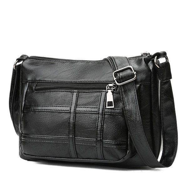 Bolsas Retro Bolsas De Couro Pu Múmia Das Mulheres Mini Embreagem Zipper Carteira Saco Do Mensageiro Bolsa Das Senhoras