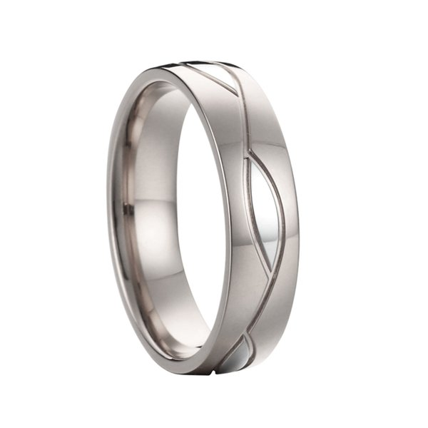 Pure Silver color men ring wedding bands promise rings bague homme christmas jewelry