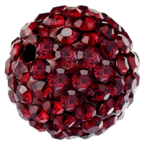 100 stücke DIY Armband perlen Pflastern Tschechische Kristall Disco Ball Ton Perlen fit Europäischen Spacer Lose Perlen für Schmuck Machen 8 10mm