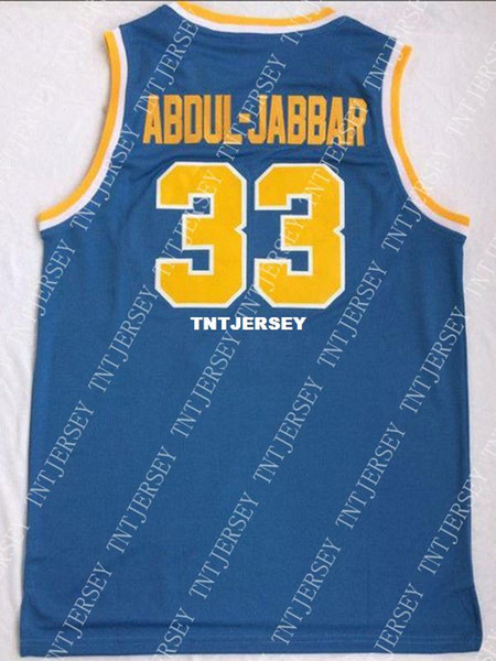 the best attitude 7058b d815f 2019 Cheap Wholesale Kareem Abdul Jabbar #33 UCLA Bruins College Sewn  Customize Any Name Number MEN WOMEN YOUTH Basketball Jersey From Tntjersey,  ...