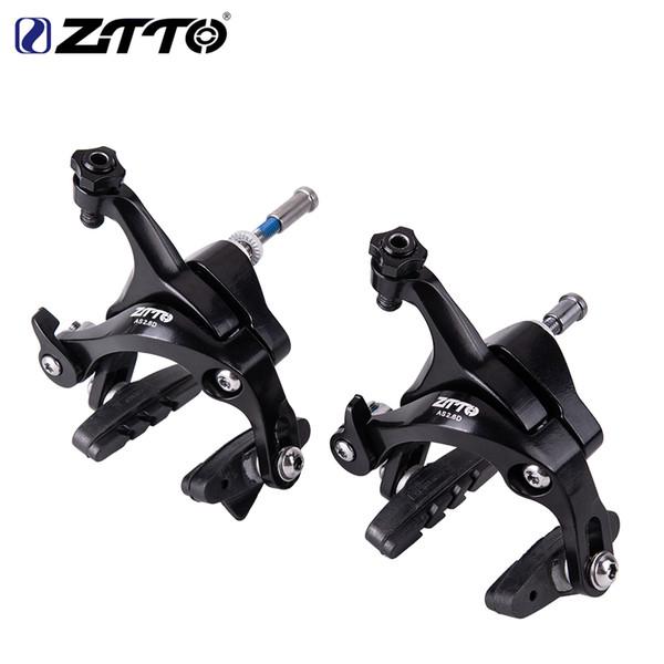 ZTTO Bicicleta AS2.6D Pinzas de doble pivote Freno de bicicleta para bicicleta de carretera y bicicleta plegable Pinza trasera delantera vs 105