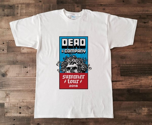 Dead And & and Company Summer tour 2018 T Shirt Grateful Dead Concert S - 5XL Men Women Unisex Fashion tshirt Free Shipping black