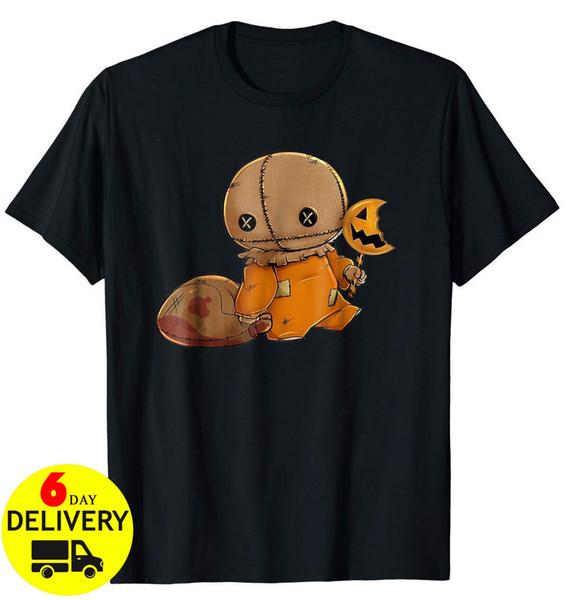 Trick 'r Treat nera T-shirt per Halloween di formato S-3XLCool casuale orgoglio uomini della maglietta unisex modo libero di trasporto maglietta