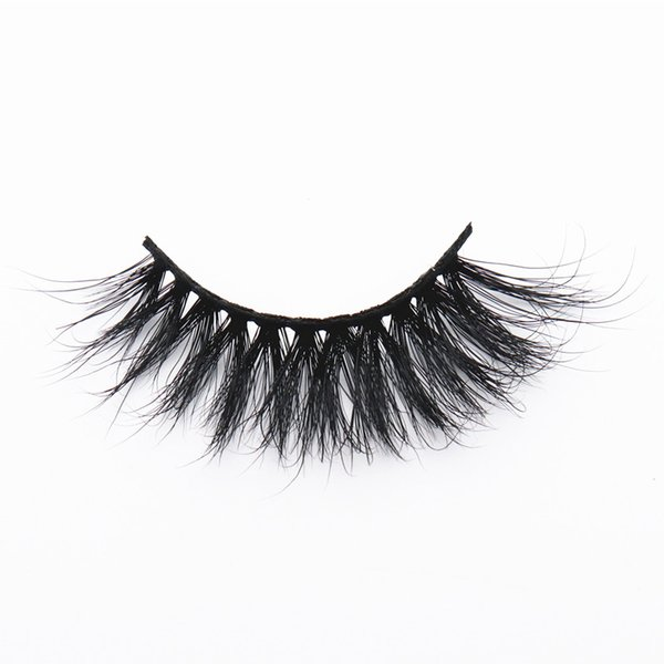 LON-14 long 25mm mink lashes strip lash thick dramatic false eyelashes one pair wholesale price light weigth package