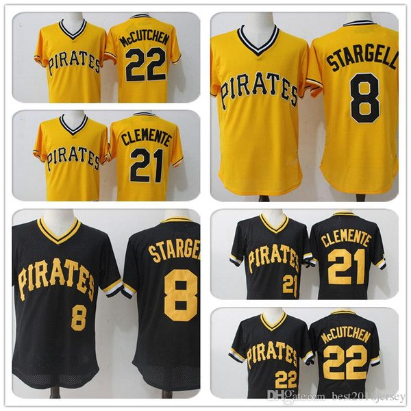 wholesale dealer 31966 132b0 2019 Pittsburgh Pirates 22 29 Francisco Cervelli 21 Roberto Clemente Jersey  8 Stargell Majestic Jersey 27 Kent Tekulve A2 From All_star_jerseys, ...