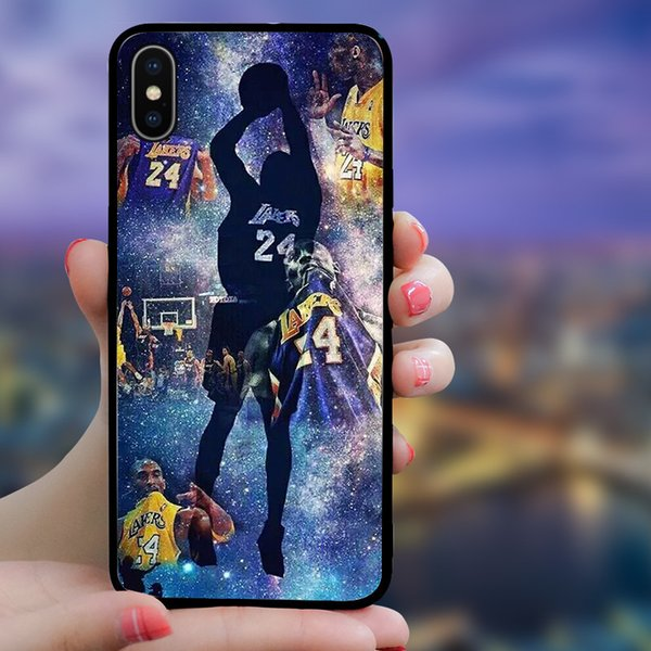 New Arrival Designer Sports Start Phone Cases for IPhone XSMAX XS XR X 6 7 8 Plus TPU Fashion Cover for Men Women