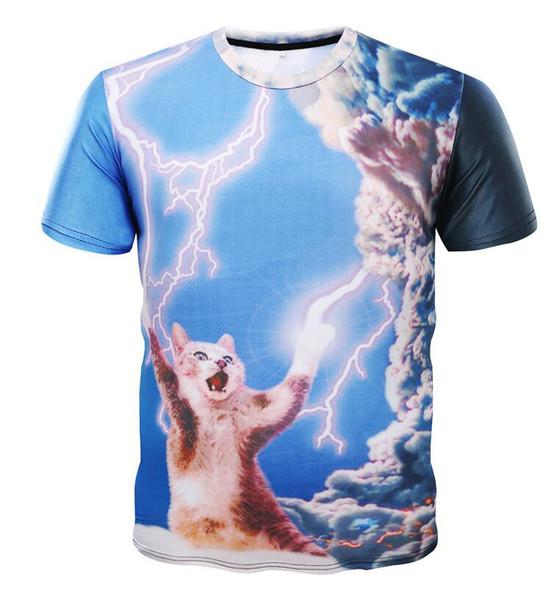De haute qualité 2019new Homme Vêtements À Manches Courtes T-shirts Hommes T-shirt Casual Coton 5XL T-shirt D'été Cassion Impression T-shirts