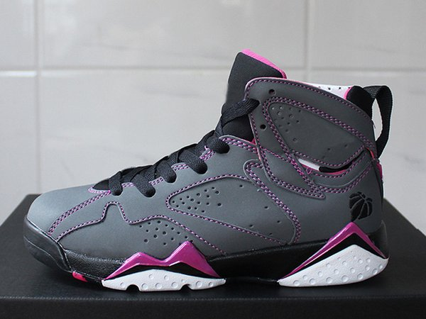 Cheap 7s Basketball Shoes GS Valentines Day Female Sneakers for Outdoor Multi Purposes Sneakers Casual Trainers for Women Size 36-40