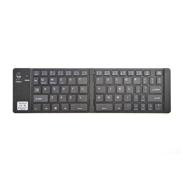 e04af80efb0 Teclado dobrável sem fio de 69 teclas do teclado de Bluetooth para o IOS  Windows do