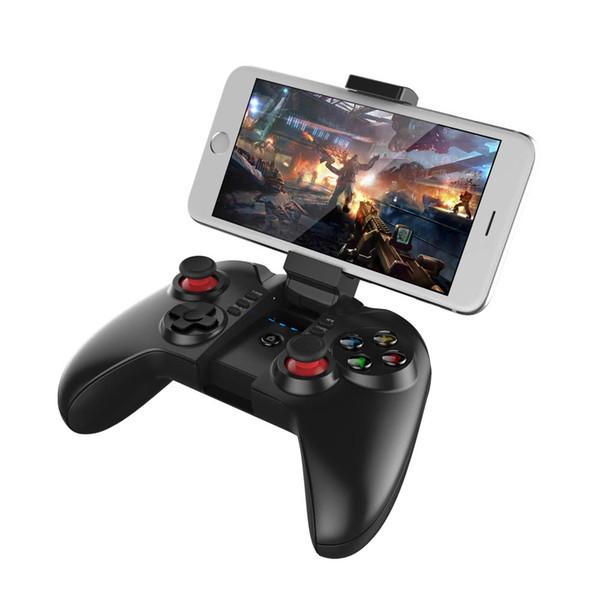Kablosuz bluetooth gamepad denetleyici joystick oyun pedi winxp win7 8 için tv kutusu iphone ipad ios samsung htc lg android tablet pc bilgisayar