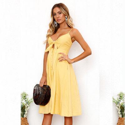 Bayan Plaj Elbiseleri Yeni Yaz Kolsuz Günlük Elbiseler 2019 Bayan Tatil Plaj Seksi Elbiseler Düz Renk Kadın Etek