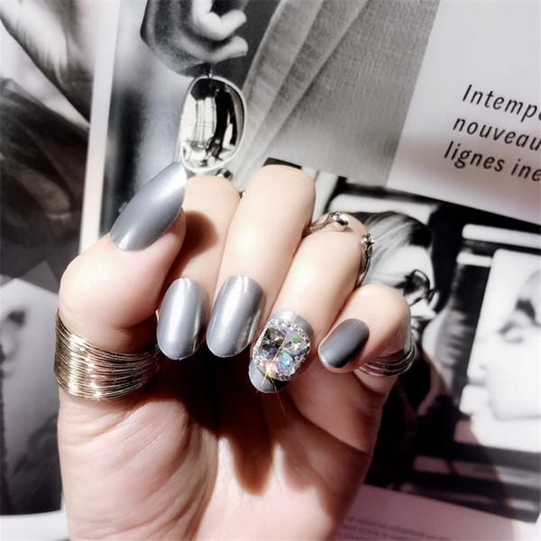 24pcs high quality fashion charm shiny jewelry transfer beads embellishment decoration fake nail patch DIY nail art