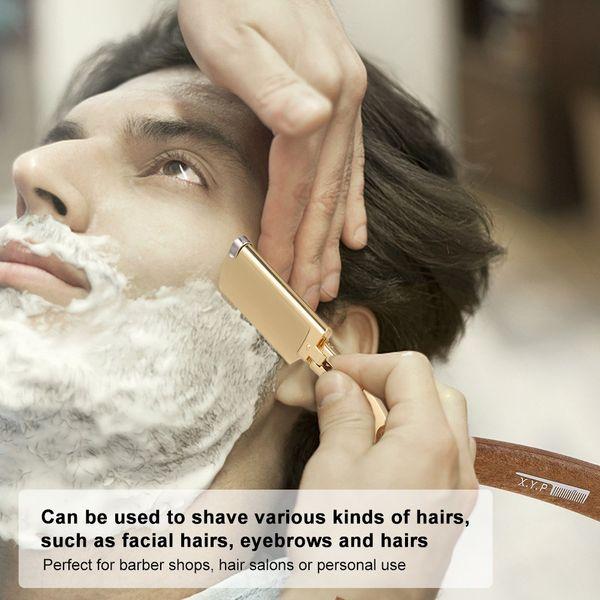 best selling Men's Manual Shaver Safety Razor Straight Edge Stainless Steel Barber Folding Hair Beard Moustache Shaving Knife