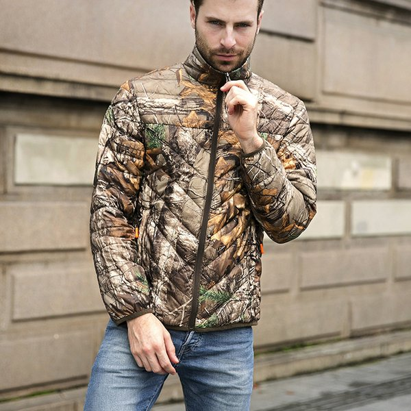 2019 fall winter men's hunting jackets cotton-padded camouflage jacket men's camo hunting jacket usa size m-3xl thumbnail