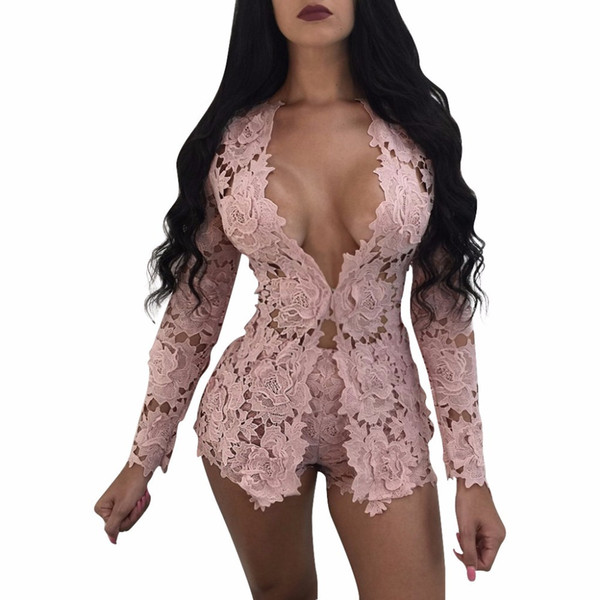 4 Colors Fashion Sexy Women Casual Hoodies/sweatshirt+shorts Two Pieces Suits Lace Party Tracksuit 3179 Y19042901