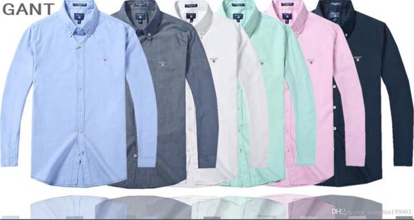 homens moda estendido GANT tshirt com palangre de hip hop roupas camisetas ganhos rocha camisetas frete grátis longas mangas Harajuku