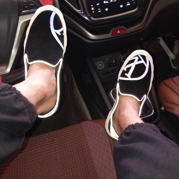 2019j yeni sınırlı sayıda lüks erkek rahat ayakkabılar, erkek eğilim çizgili beyefendi moda spor ayakkabı, kod: 38-45