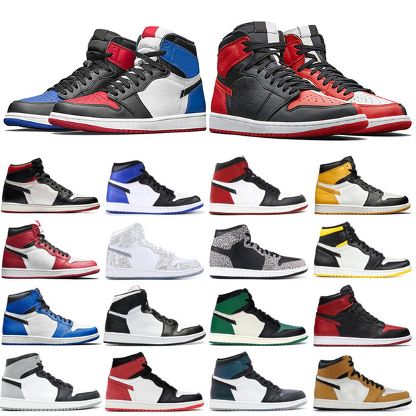 Yıl Çok Renkli Spor Ayakkabılar Oyun En Parça Kırmızı Kraliyet 1s İlk 3 Çaylağı olarak Sıcak 1 Erkek Basketbol Ayakkabıları Yüksek OG