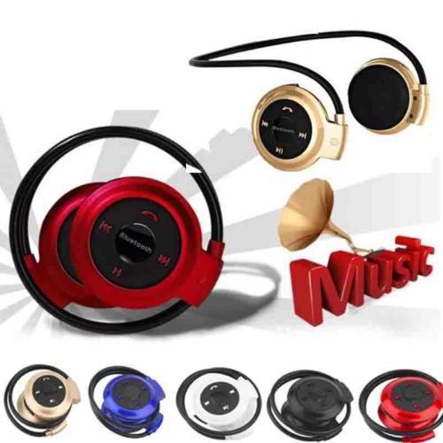 Nouveau Mini 503 Sans Fil Bluetooth Stéréo Casque Mains Libres Sports Musique FM Micro Écouteur Casque pour iPhone 6 5S iPad Samsung S4 S5