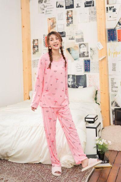 YF579 weiblicher Frühling und Herbst mit langen Ärmeln Baumwolle zweiteiliger Anzug Pyjama netter dünnen Abschnitt große Milch Seide Home-Service Winter