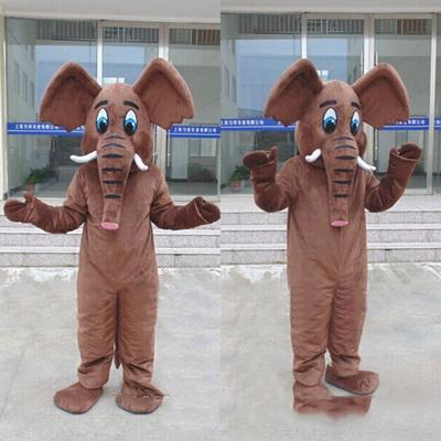 2019 Factory direct sale Three style High quality EVA Material Helmet Elephant Mascot Costumes props party cartoon Apparel