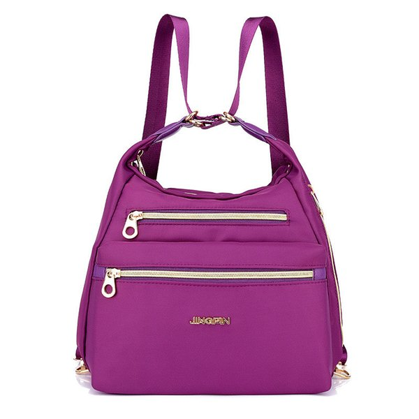 Outdoor Waterproof Women's Small Backpack Multi-function Oblique Cross Bag Climbing Bag for Female