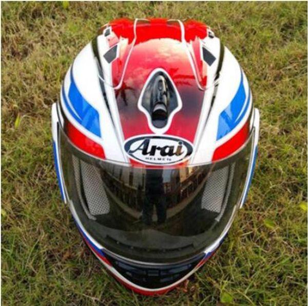 Free shipping Summer season Man Motorcycle helmet full face flip Up racing Off Road DOT Certificate Motocross helmet