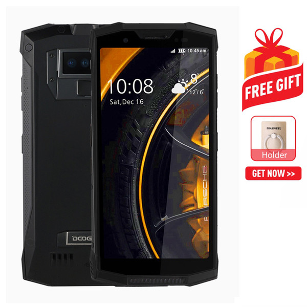 DOOGEE S80 Rugged Phone 6GB+64GB MIL-STD-810G Fingerprint Identification 5.99 inch Android 8.1 MTK6763T Octa Core up to 2.5GHz Network: 4G