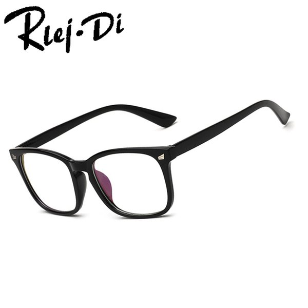NZ029 Brand Fashion Metal Glasses Frame Retro Woman Men Reading Glass Frame UV Protection Clear Lens Computer Eyewear