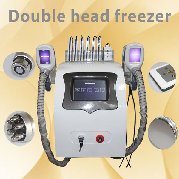 Utilisation à domicile Cryolipolysis amincissant la machine nouvelle technologie cryothérapie Réduction de graisse Perte de poids Congélateur Livraison rapide DHL
