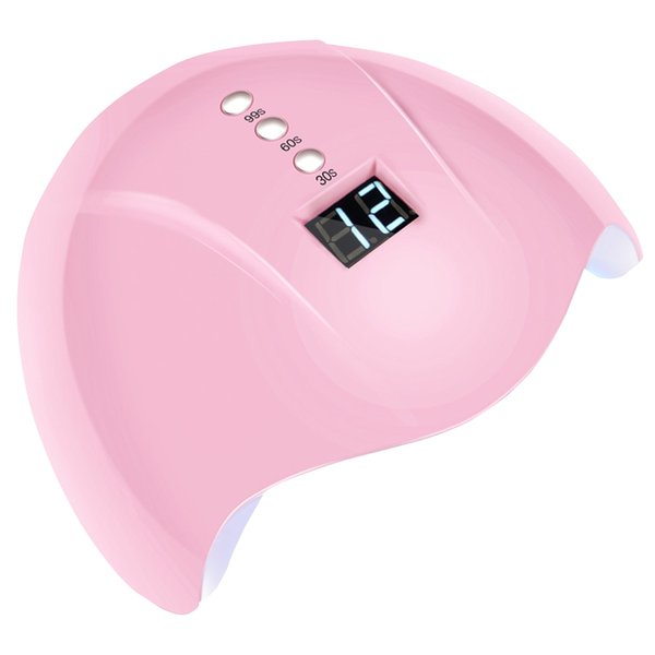 36W Led Timer USB Powered Auto Sensing Art UV Lamp Tool Smart Manicure Machine Polish Curing LCD Display Nail Light Drying