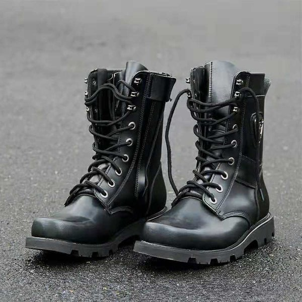 reputable site 54aa9 103fb 2019 Red Navy Boots 07 Battle Boots Men Ultra Light Spring And Autumn Air  Permeability Boots, Special B.. From Weekfourteen, $30.16 | DHgate.Com