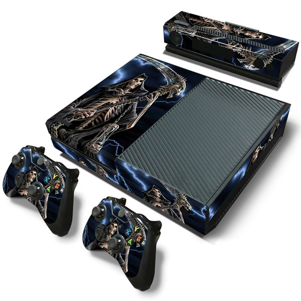 Fanstore Skin Sticker Vinyl Decal Protective Wrap for Xbox One Console and 2 Remote Controller Hot Sale Design