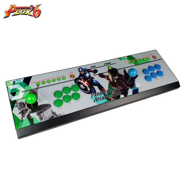 2019 new product video game console with Pandora's Box 6 jamma multi game pcb board