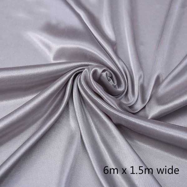 1.5*6m silver curtain