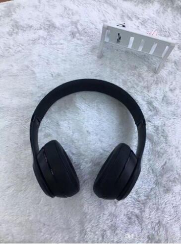 A ++++ Qualidade Stu-3.0 Sem Fio Bluetooth Fones De Ouvido Mais Novo 3.0 Fones De Ouvido com Caixa de Varejo Músico estúdio Fones De Ouvido Sombra Cinza