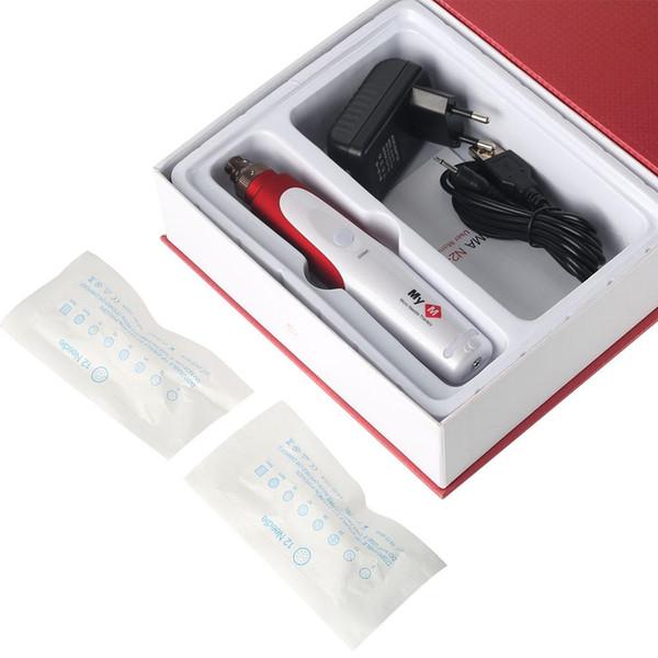 Baïonnette Dr Pen cartouche aiguille NeedleTips exfolier Shrink Pores appareil électrique Micro Derma roulant StampTherapy Outils de beauté