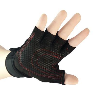 KopiLova Guanti da sci all'aperto senza dita di alta qualità Mezze dita Guanti antiscivolo per sollevamento pesi Escursionismo Sci Alpinismo