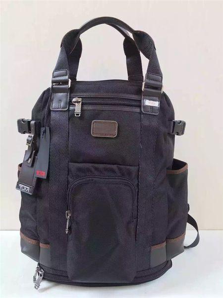 Cool High Quality Ballistic Nylon Backpack for Men Outdoor Casual Travel Business Rucksack Handbag Laptop Bag Tumi 222380