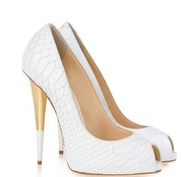 Hot venda- couro unhas salto alto salto alto sapatos de designer designer de PROM femininos para os sapatos de noiva do casamento