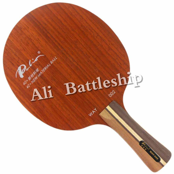 Palio Original Way 002 OFF+ 40+ new material ball Table Tennis Blade for PingPong Racket