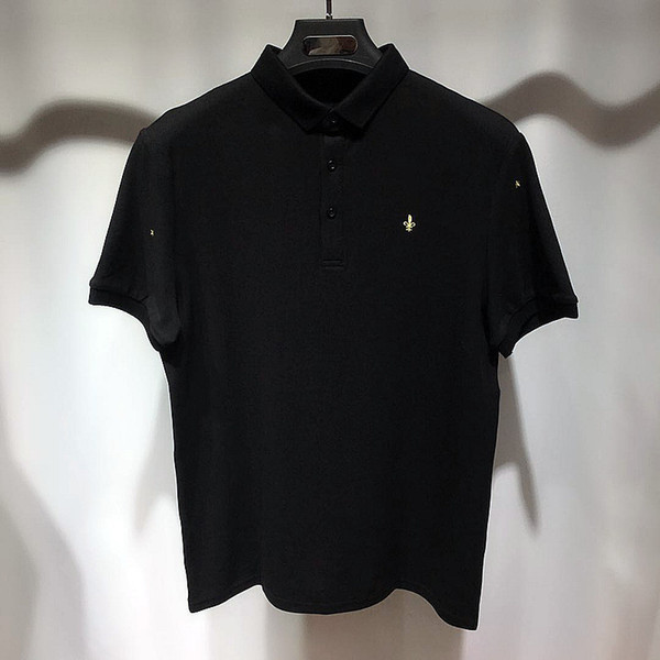 Mens Ricamo Polo Estate Designer New Fashion Cool Fresh Polo Magliette maniche corte Tops