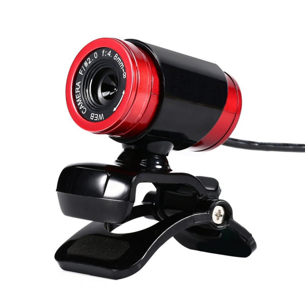 HD Webcam 12.0M Pixels CMOS USB Web Camera Digital Video Camera with Microphone 360 Degree Rotation Clip-on PC Laptop Notebook